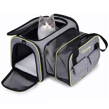 Transportín para mascotas Dadypet por solo 21,79€ con cupón