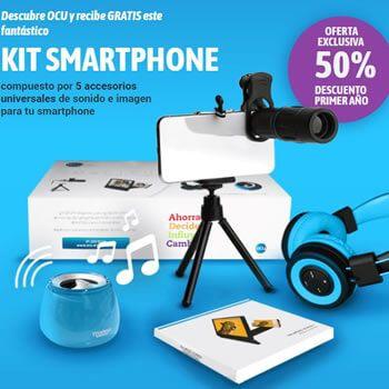 5 accesorios para smartphone GRATIS con OCU