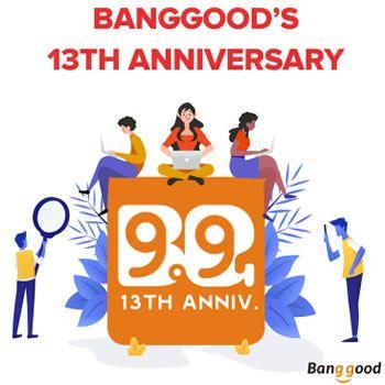 13 aniversario Banggood, ¡miles de chollos y regalos!