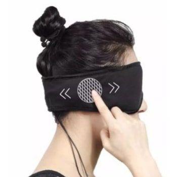 Antifaz para dormir con auriculares por 9,06€