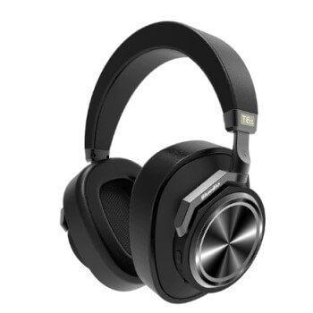 Auriculares inalámbricos Bluedio T6S a mitad de precio