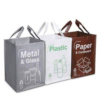 Bolsas de Reciclaje Opret por 13,03€ en Amazon