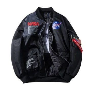 Cazadora NASA por 19,30€ en AliExpress