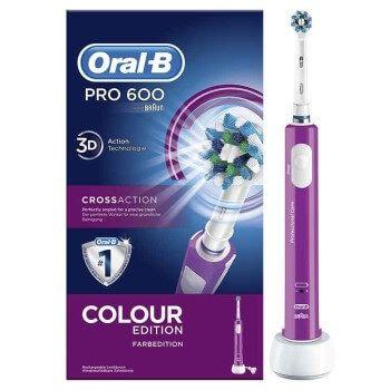 Cepillo de dientes eléctrico Oral-B Pro 600 por 17,99€