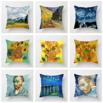 Fundas cojín Van Gogh por 2,33€ y envío gratis en AliExpress
