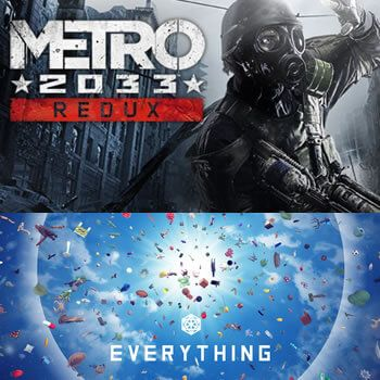 Metro 2033 Redux y Everything gratis en Epic Store