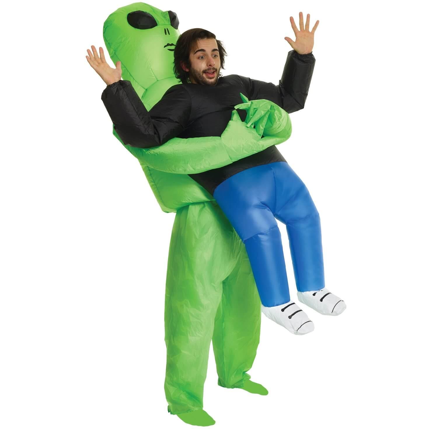 Disfraz alien moda meme inflable twitter viral barato oferta descuento mejor precio