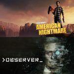 alan wave american nightmare observer gratis videojuegos terror ciencia ficción oferta descuento pc epic