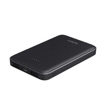 Batería Aukey 10000 mAh con 2 puertos USB por 13,99€ en Amazon