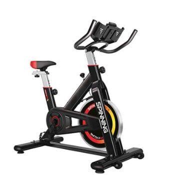 Bicicleta de spinning Gridinlux por 129,99€ en Amazon