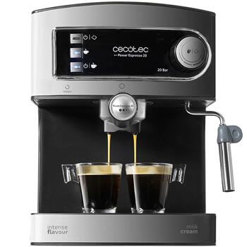 Cafetera Espresso Cecotec por 46,39€ y envío gratis desde España