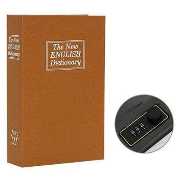 Caja fuerte con forma de libro Aibecy por 9,59€