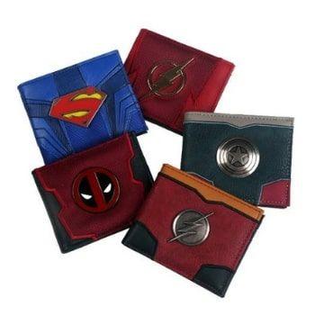 Carteras superhéroes por 4,10€ en AliExpress