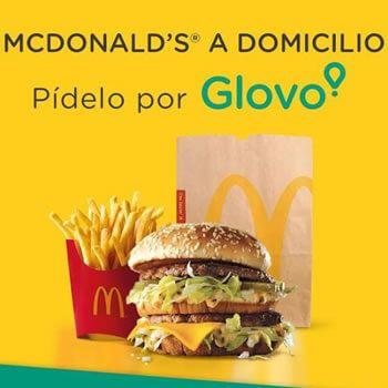 Envío gratis en McDonalds con Glovo