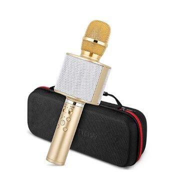 Micrófono karaoke Bluetooth Mbuynow por 16,99€ en Amazon
