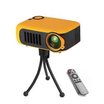 Mini proyector 800 lúmenes por 32,26€ en Aliexpress