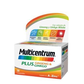 Multicentrum Plus (caja de 30) por solo 6,41€ en Amazon