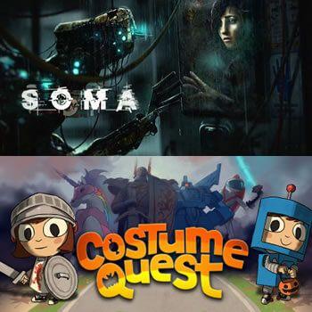 Soma y Costume Quest GRATIS en Epic Store, ¡los mejores videojuegos para Halloween!