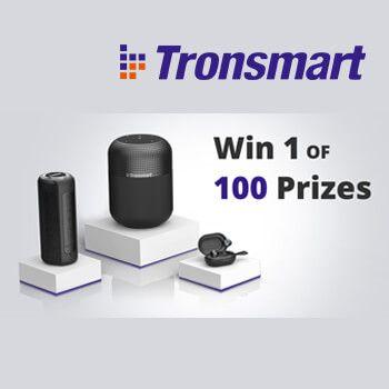 ¡SORTEO INTERNACIONAL Tronsmart de 100 productos!