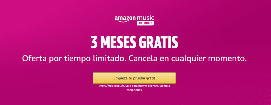 musica amazon music unlimited gratis
