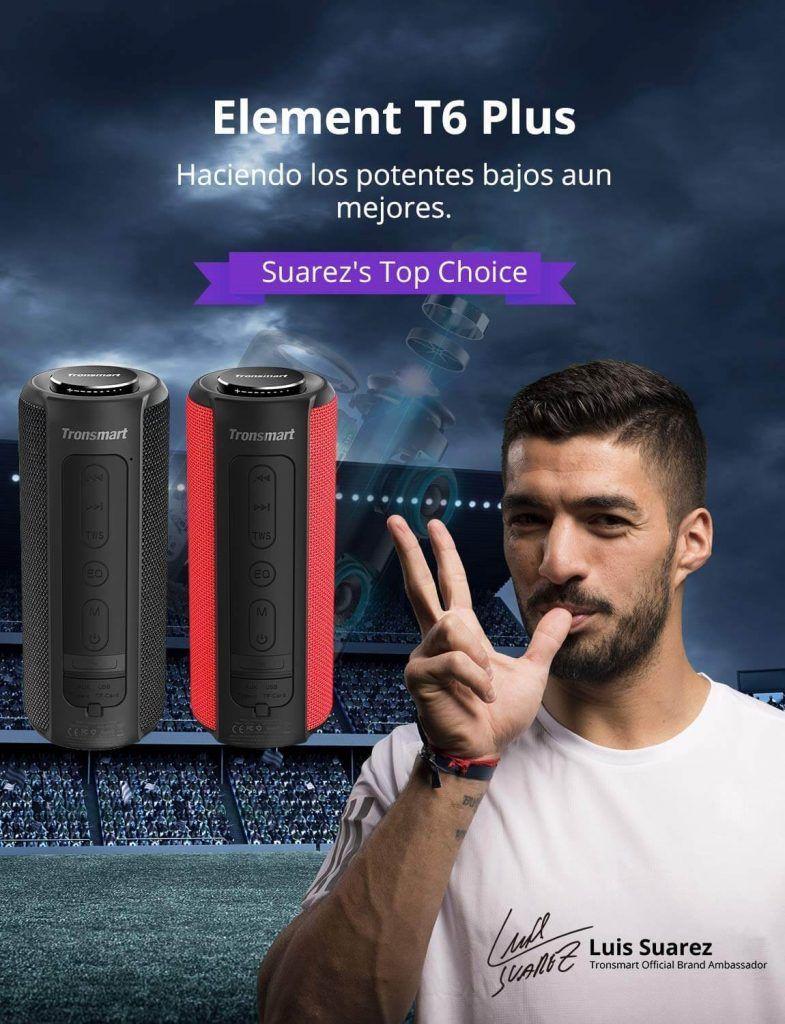 Tronsmart Element T6 Plus altavoz inalambrico barato oferta descuento mejor precio