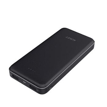 Batería externa 20000 mAh Aukey por 17,99€ en Amazon