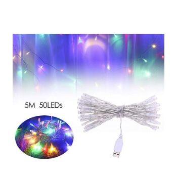 Tira de luces navideñas Lilideni por 4€ en Amazon