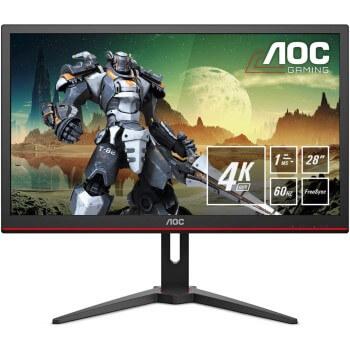 Monitor gaming 28″ UHD AOC G2868PQU por 299,98€