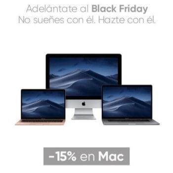 Ofertas Apple -15% portátiles Mac en Fnac