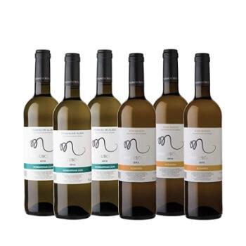 Pack 6 botellas de vino Manuscrito por 14,40€ en Amazon