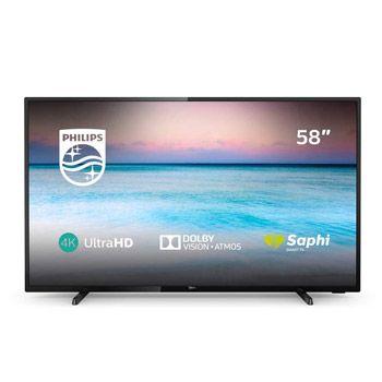 Smart TV Philips de 58″ 4K por 409,99€ en Amazon