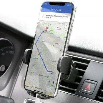 Soporte de móvil para coche Aukey por 6,99€ en Amazon