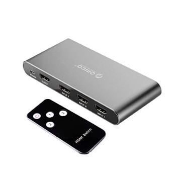 Switch 4K HDMI 3 puertos Orico por 14,39€ en Amazon