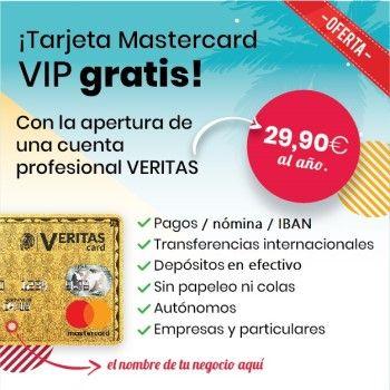 Veritas Mastercard, la tarjeta prepago de referencia