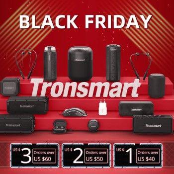 Ofertas Black Friday Tronsmart en AliExpress