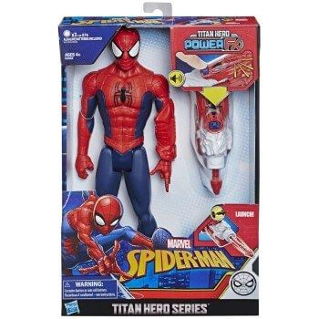 Muñeco Spiderman Titan Hero Power FX a mínimo: solo 16,90€ en Amazon