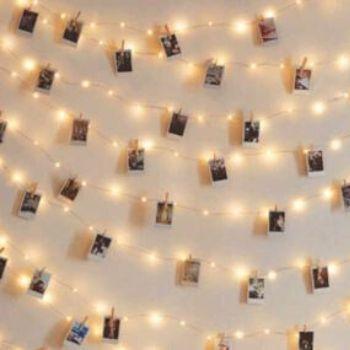 Cadena de luces LED con clips Anpro por 7,49€ en Amazon