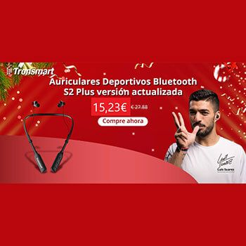 Auriculares Tronsmart Encore S2 Plus por 15,23€ en Aliexpress