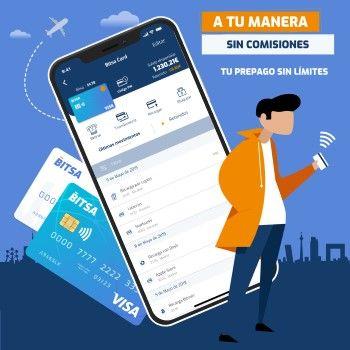 Bitsa, la nueva tarjeta de prepago gratuita sin cuenta bancaria