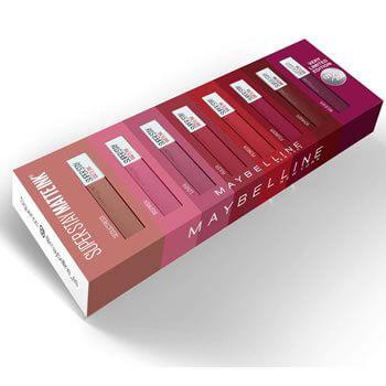 Cofre Maybelline New York Edición Limitada 8 Pintalabios por 49,99€ y envío gratis en Amazon