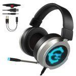 Comprar Auriculares Gaming Cacagoo por 17,99€ en Amazon con descuento