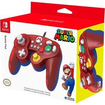 Mando Nintendo Switch Hori Battle Pad Mario por solo 19,95€ en Amazon