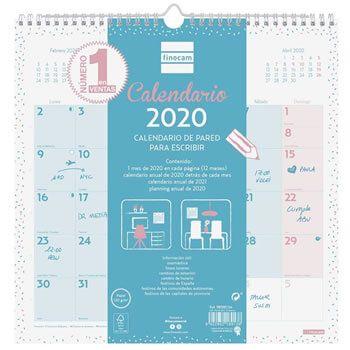 Calendario Finocam 2020 por 4,90€ en Amazon
