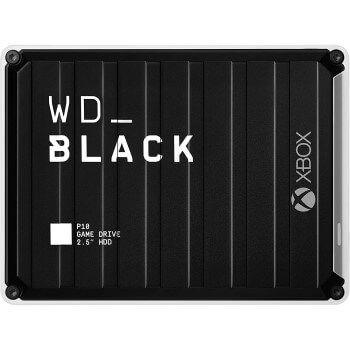 Disco duro 5TB WD Black P10 Game Drive por 119,51€ y envío gratis en Amazon
