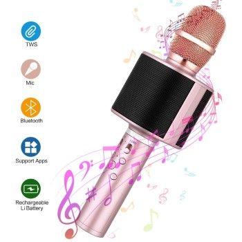 Micrófono inalámbrico karaoke Mbuynow por solo 8,99€ en Amazon