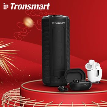 Aniversario de AliExpress Tronsmart con 70% de descuento y auriculares gratis