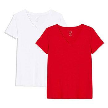 Pack de 2 camisetas de mujer Meraki por solo 4,50€ en Amazon (en varios colores y tallas)