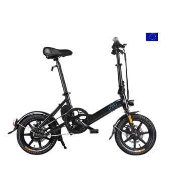Bicicleta eléctrica Fiido D3 por 439€ en Geekbuying
