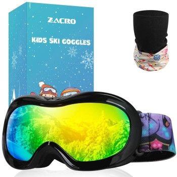 Gafas de esquí Zacro por solo 6€ con cupón descuento en Amazon