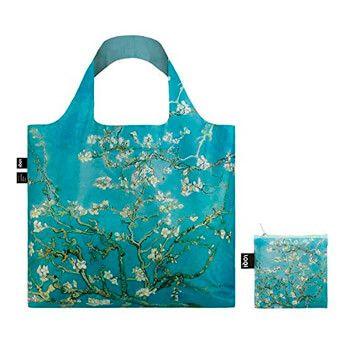 Bolsa plegable LOQI Almendro en flor de Van Gogh por solo 9,55€ en Amazon